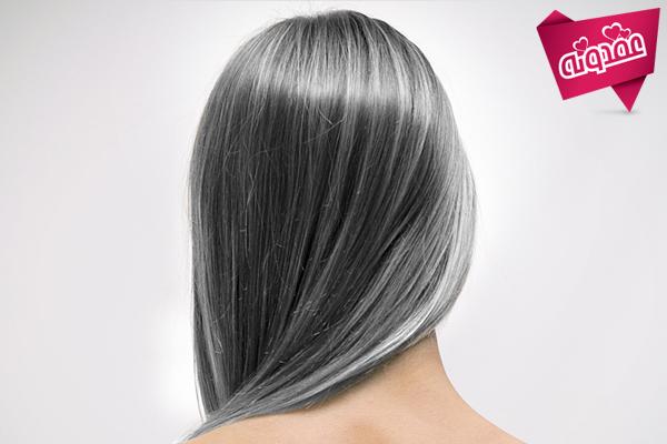 درمان گیاهی سفید شدن مو