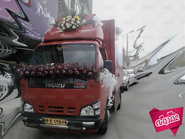 عجیب ترین ماشین های عروس در ایران