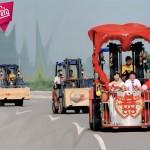 عجیب ترین ماشین های عروس در دنیا (قسمت اول)