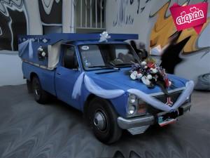 عجیب ترین ماشین های عروس در دنیا (قسمت دوم)